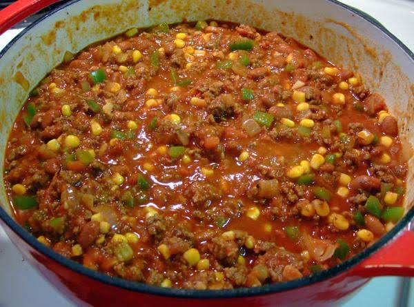 Lisa's Dutch Oven Chili