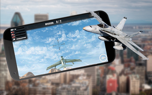 Fly F18 Jet Fighter Airplane Game Attack Free 3D - náhled