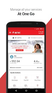 My Airtel-Recharge, Bill, Bank- screenshot thumbnail