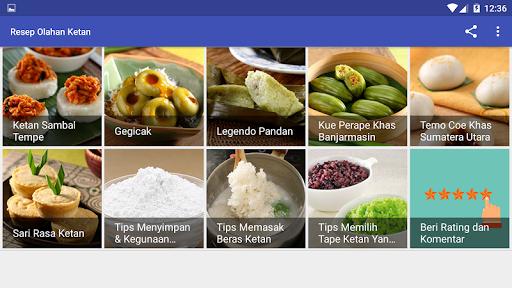 Resep Olahan Ketan screenshot 16
