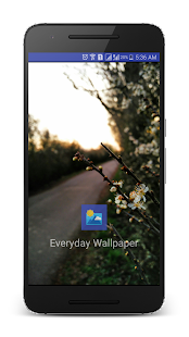 Everyday Wallpaper Changer- screenshot thumbnail