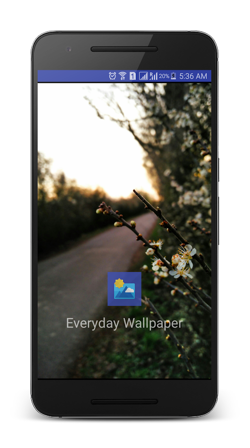 Everyday Wallpaper Changer- screenshot