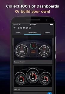 Download DashMaker (OBD 2 Car ELM App) For PC Windows and Mac apk screenshot 1