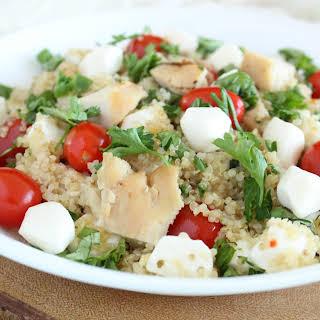 Italian Quinoa Chicken Salad.