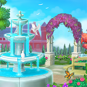 Royal Garden Tales - Match 3 Castle Decoration Icon