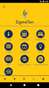 SigmaTen Accounting Services - náhled
