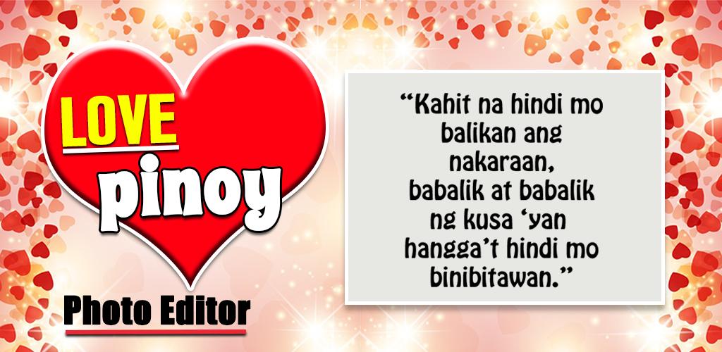 Pinoy Tagalog Hugot Bisaya Love Quotes Editor Apk Download Com