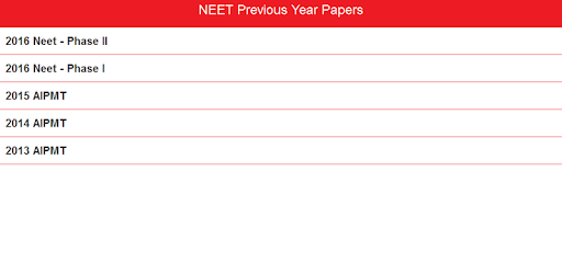 neet previous papers apps on google play