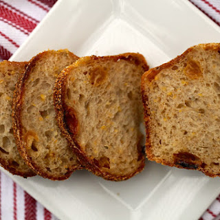 Golden Raisin and Fennel Sourdough Pocket Bread