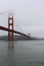 Photo: To the base of the Golden Gate Bridge.