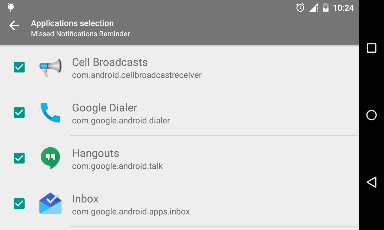 how to remove missed call notification android