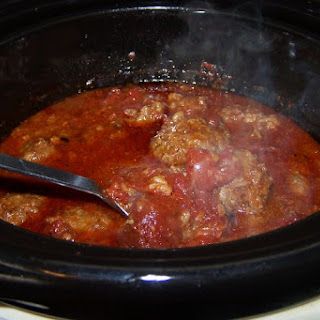 Slow Cooker Cowboy Meatballs