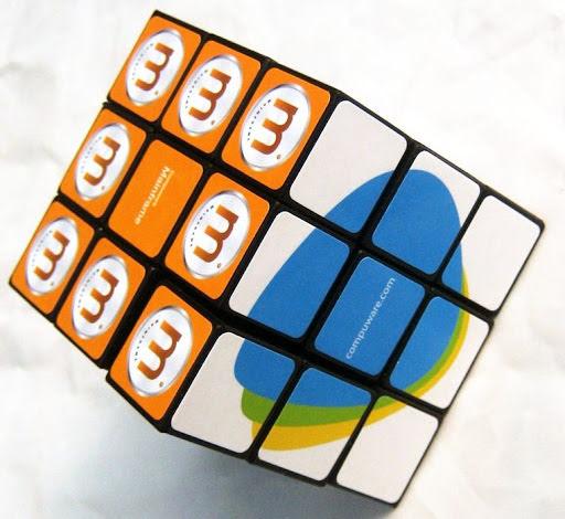 Printed Elastic Desktop Puzzle Cube