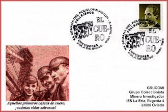 Photo: Matasellos de la XX Semana del Folclore Astur de Pola de Siero 1999
