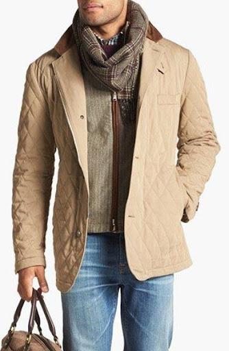 メンズジャケットファッションアイデア