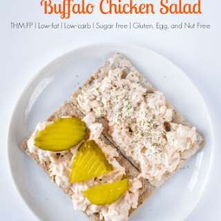5-Ingredient Buffalo Chicken Salad