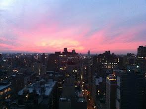 Photo: Sunset over West NY