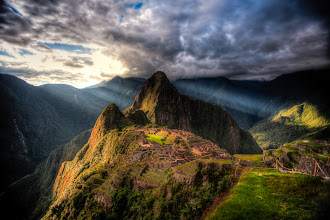 Photo: In the Spotlight  I occupied this cliff-edge spot in Machu Picchu for quite a while as the day started to fade (and until they kicked us out...which, unfortunately is before the sun sets). The light streams that broke through the clouds were my favorite part, especially because the clouds were so thick and dramatic. This was the perfect ending to a perfect day in the city with +The Giving Lenscrew.  P.S. you may notice that I no longer use a watermark on my images. I finally realized it looks pretty awful with it stuck in the corner and serves little real purpose :)  #mountainmonday curated by +Michael Russell #perumonday  #plusphotoextract  curated by +Jarek Klimek #peru  #machupicchu  #landscapephotography  #southamerica  #tglperu