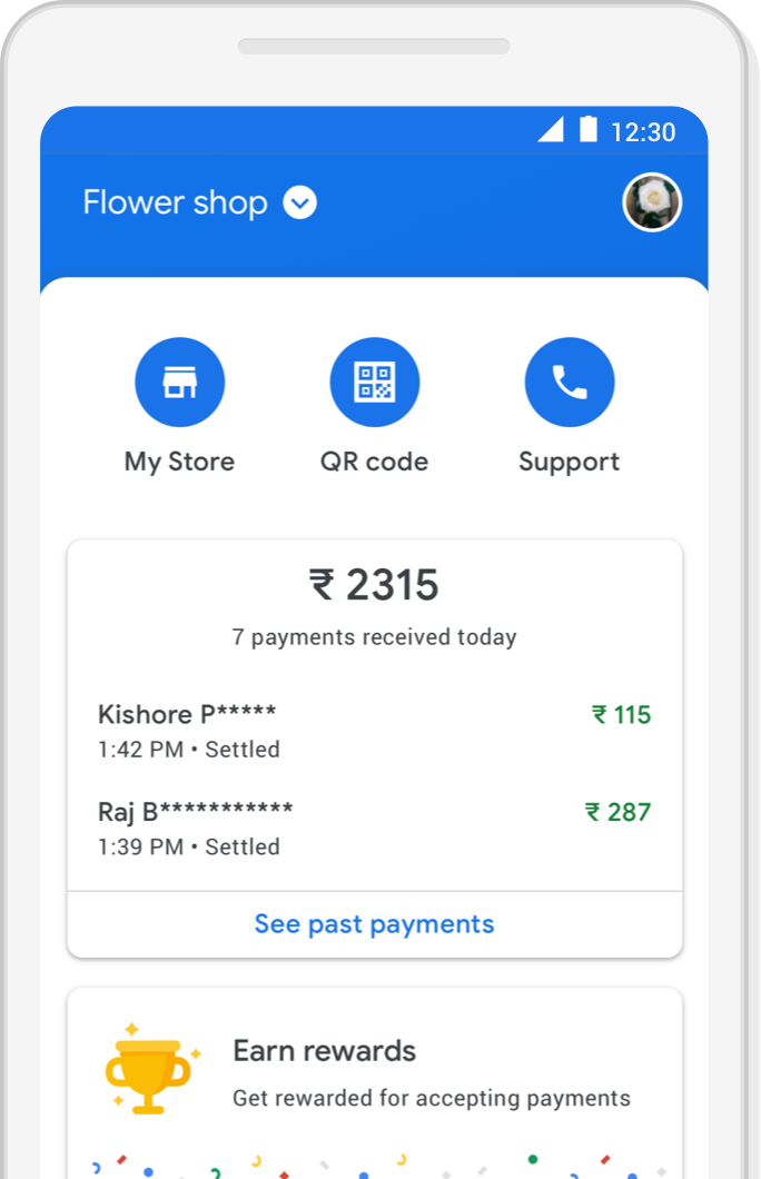 Google Pay For Business Transact