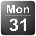 Date in Status Bar icon