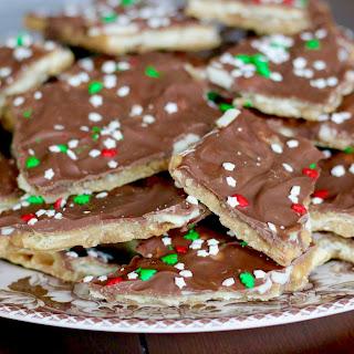 Christmas Crack (Cracker Toffee)