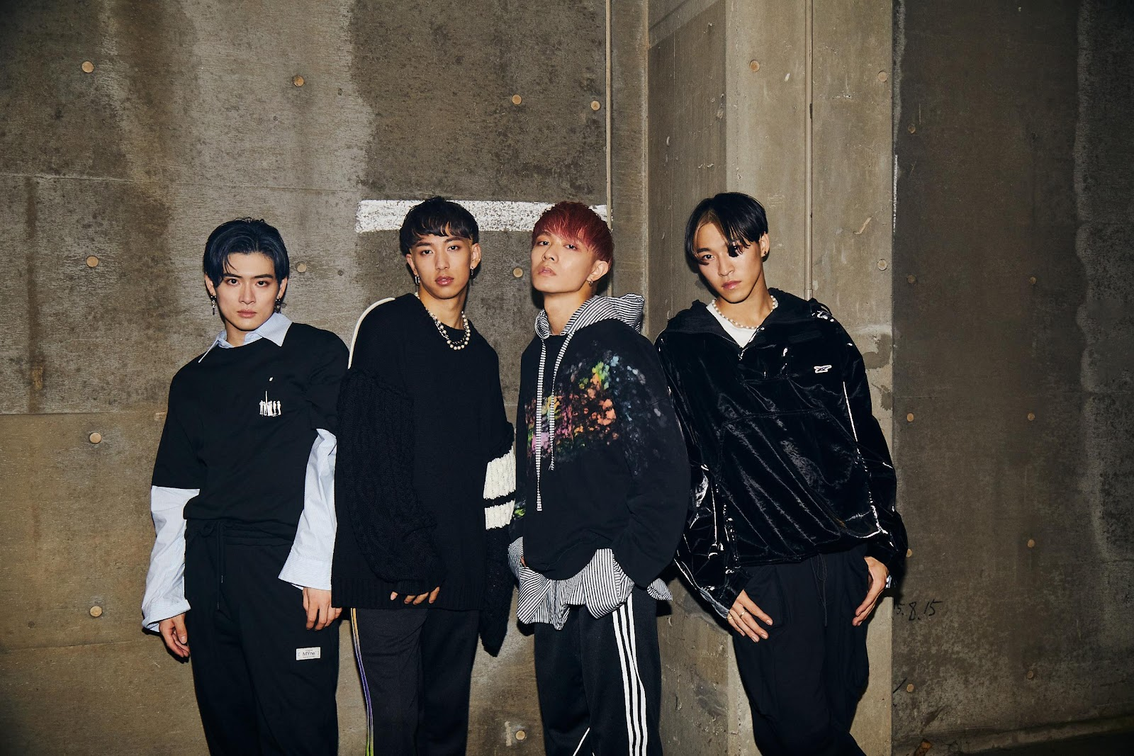 Incredible choreography and cool rock beats: Japanese-Chinese boy group WARPs UP release 'SUPERNOVA' music video