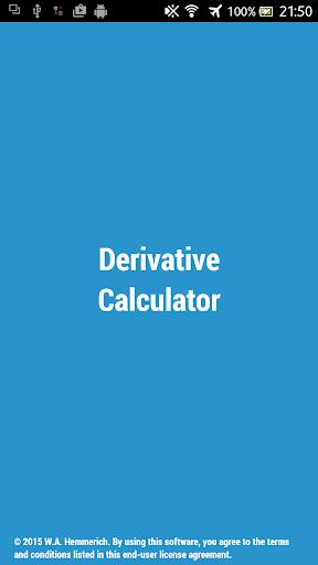 Derivative Calculator w Steps