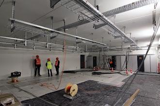 Photo: Salle 1 - Vue générale #datacenter #reims (Visite de chantier 09.10.2014)