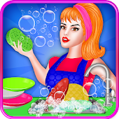 Dish Washing Games For Girls: Home Kitchen Cleanup Android APK Download Free By AvenueGamingStudios