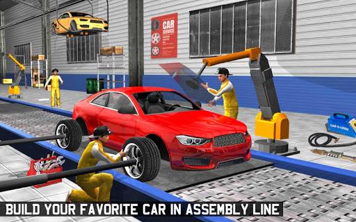 Car Maker Factory Mechanic Sport Car Builder Games 1.12 screenshots 8