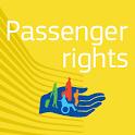 Passenger rights icon