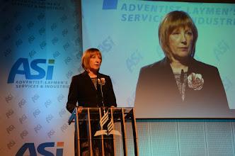 Photo: E. Kudrnová - předsedkyně ASI-CS