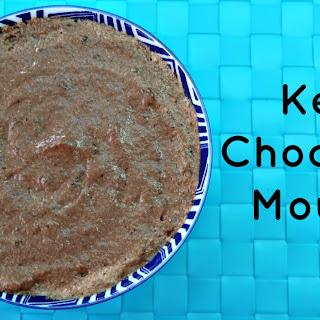 Keto Chocolate Mousse.