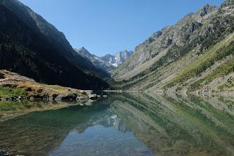 Photo: Cauterets: estany de Gaube amb el Vignemale al fons