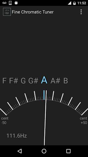 Fine Chromatic Tuner screenshots 2
