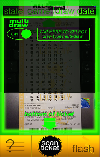 YooLotto - Lottery Scanner- screenshot