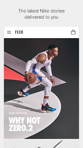 Nike Android App Screenshot