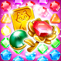Jewel Castle - jewels puzzle game icon