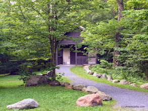 Photo: Restroom in Smugglers' Notch by Norm & Sharon Rabtoy