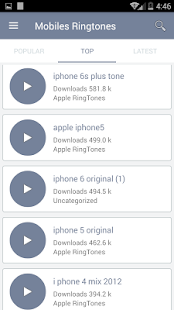 Mobiles Ringtones- screenshot thumbnail