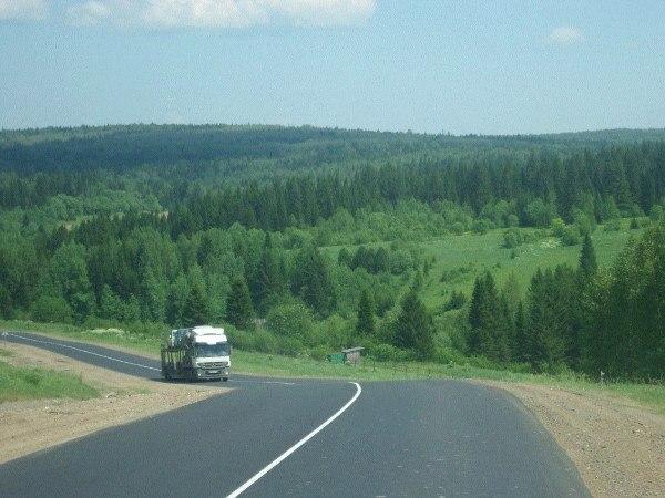 Автостопим в Красноярск