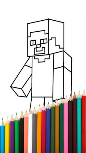 Kids Coloring Book Craft