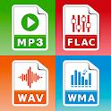 MP3 Converter (music ogg flac wav wma aac) icon