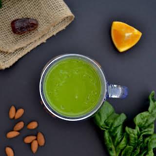 Iron-Boosting Orange Green Smoothie.