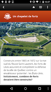 Visite guidée des forts de Lévis - náhled