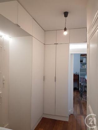 Location appartement meublé 3 pièces 56,8 m2