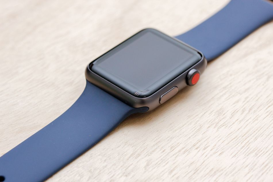 Apple Watch leather buckle