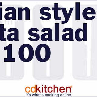 Italian-Style Pasta Salad for 100