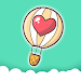 Rise up love - most addictive balloon game icon