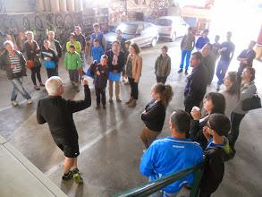Photo: Briefing d'avant départ.
